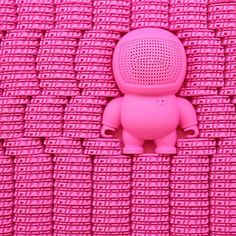#audiobot #audiobots #audiobotsrock #audio #music #pink #imixid #art #design #designertoy #street #fashion #scandinavia #style #streetwear #urban #urbanart