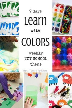 Color Activities for Tot School and Preschool - Best Toys 4 Toddlers