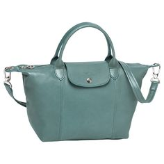 Le Pliage® by Longchamps  Love these leather versions with strap variations.  The challenge is not to want every colour!