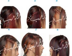 کوتاهی مو و آموزش اکستنشن مو  این مدل کوتاهی برای موهای کم پشت و بی حالت مناسب است زیرا با رنگ کردن و اضافه کردن اکستنشن، تصور موهایی پرپشت به وجود می آید.