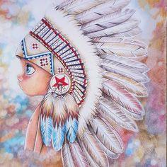 Amy Bridger (@willowstails) • Instagram photos and videos Cartoon Kunst, Cartoon Art, Indian Drawing, Native American Artists, Color Pencil Art, Aboriginal Art, Native Art, Whimsical Art, Rock Art