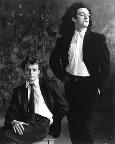 Mikhail Baryshnikov and Mark Morris 1988 by Annie Leibovitz