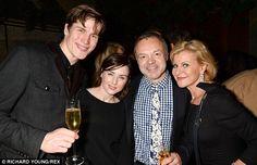 Having a blast: Graham Norton, Maria McErlane and their pals looked like they were enjoyin...