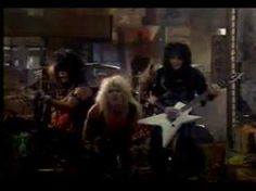 Motley Crue - Too Young to Fall In Love.   The video that brought us 2 very tall men.... that we learned to love to hate....  Tommy Lee and Niki Sixx
