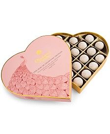 Charbonnel et Walker 20-Pc. Pink Marc de Champagne Truffles Heart Box