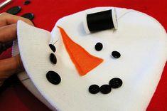 Kids snowman winter hat | Skip To My Lou