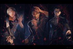 Detroit become human Connor, Markus, Kara By: @Sukiri_