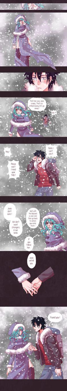 Doujinshi Gruvia parte 2. English Credit: pinkhinori