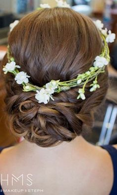 18 most romantic updos hair-makeup by steph