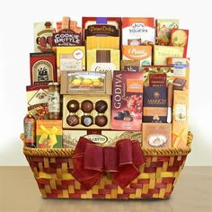 Chance to Win a Godiva Thanksgiving and More Gift Basket! Suitable for any Autumn occasion, this Godiva Thanksgiving and more gift basket is chocked-full...