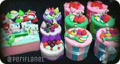 Idul Fitri Gift. Set of Tissue Boxes and Cookies Jars. Felt. Handmade.