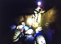 Caving Tours & Overnight Adventures.  Caving Adventures close to Asheville, Boone and Johnson City, TN, Experience a four hour tour through a natural limestone cave.