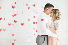 Engagement inspiration: http://www.stylemepretty.com/california-weddings/los-angeles/2015/05/13/romantic-valentines-day-inspired-engagement-session/   Photography: Kim Le - http://www.kimlephotography.com/