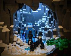 38 - Brent Waller Lego Dc, Lego Batman, Cool Minecraft Houses, Minecraft Skins, Minecraft Buildings, Hama Beads Minecraft, Perler Beads, Amazing Lego Creations, Batman Logo