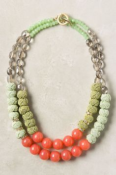 Congeries Necklace #anthropologie
