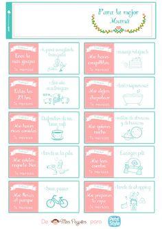 Manualidades y decoracion: Imprimibles