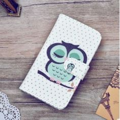 Luxury Wallet PU Leather Case For Lenovo A 2010 Case Flip Cover Cartoon Painting Phone Bag With Card Holder Stand Samsung Picture, 3 Phones, Leather Cover, Pu Leather, Phone Store, Alcatel One Touch, Cute Wallets, Note 3 Case, Cartoon Painting