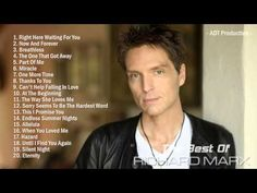 The Best Of Richard Marx | Richard Marx's Greatest Hits - YouTube