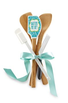 """Craft a """"bouquet"""" for the bride using your favorite kitchen tools.  Contact Nancy today to schedule a Pampered Chef bridal shower! Nancymcmahan@comcast.net"""