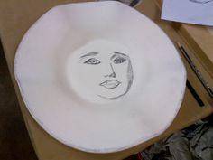 Ceramic wonky bowl