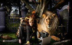 Fantasy Girl Surreal Image Manipulation