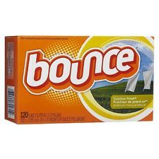 Bounce Fabric Softener Dryer Sheets, Outdoor Fresh 120 ea