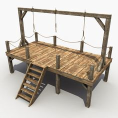 Medieval Gallows Model available on Turbo Squid, the world's leading provider of digital models for visualization, films, television, and games. Anne Bonny, 3d Building Models, Gallows, Woodworking Projects That Sell, Tabletop Games, Porch Swing, Model Trains, Outdoor Furniture, Outdoor Decor