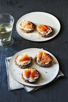 """""""Everything"""" Salmon Bites #appetizer #seafood #holiday"""