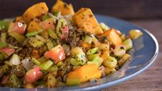 Breadless Butternut Stuffing from The Rachael Ray Show Gluten-free and Paleo