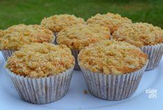 Muffins de Banana com Cobertura Crocante 2 ovos 3/4 xicara de açucar 2 a 3…