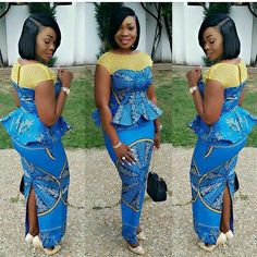 Check Out this Beautiful Ankara Blouse and Skirt Styles .Check Out this Beautiful Ankara Blouse and Skirt Styles African Fashion Ankara, Latest African Fashion Dresses, African Dresses For Women, African Print Dresses, African Print Fashion, Africa Fashion, African Attire, African Wear, Ghanaian Fashion
