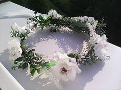 AtaJanson / Svadobný kvetinový venček do vlasov ...z lásky k Tebe...