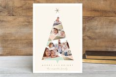 Complete Geo Tree Holiday Postcards by fatfatin | Minted