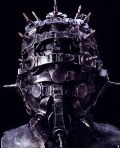 "H.R.GIGER ""IRON MASK"" SCULPTURE"