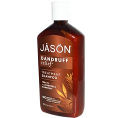 Jason Natural Dandruff Relief Treatment Shampoo does not  contain petrolatum, sodium lauryl or laureth sulfates (SLS), parabens or phthalates. It Gently stops dandruff while controlling scalp dermatitis and mild psoriasis.