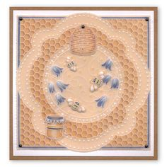 Parchment Design, Embossing Tool, Parchment Cards, Bee Cards, Clever Design, Queen Bees, Paper Cards, Plate Sets, Painted Rocks