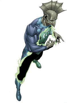 Green Lantern Tomar-Tu by Ethan Van Sciver