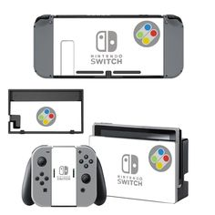 Circle design vinyl decal for Nintendo switch console sticker skin
