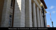 Welcome to Pontotoc County, Mississippi