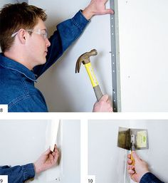 how to install drywall!