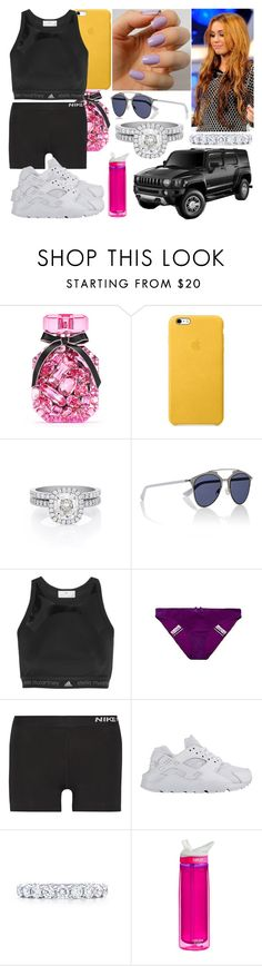 """Lundi 29 Août 2016 Matin (10H-12H)"" by laurie-2109 ❤ liked on Polyvore featuring Cyrus, Victoria's Secret, De Beers, Christian Dior, adidas, Huit, NIKE, Tiffany & Co. and CamelBak"