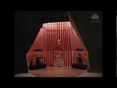 Circus in stop motion by www.haseweiss.de, seen on Finelittleday.com