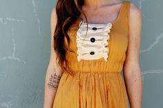 Vintage-Inspired Dress Makeover