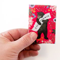 Red Bear Magnet from 3 Fish Studios