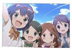 Garotas! De inazuma Best Friends Cartoon, Friend Cartoon, Inazuma Eleven Strikers, Umaru, Evans, Art Drawings For Kids, Inazuma Eleven Go, Boy Art, Kawaii Anime Girl