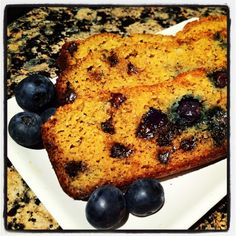 Paleo blueberry chocolate chip pumpkin loaf