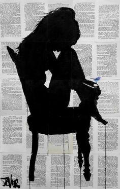"""Saatchi Art Artist Loui Jover; Drawing, """"little secrets"""" #art"""