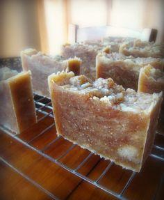 Silk Shampoo Bar Soap Recipe :: Calendula + Honey Herbal Silk Shampoo Bar Soap