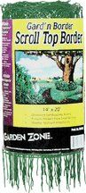 Pin it :-) Follow us :-)) zGardensupply.com is your Garden Supply Gallery ;) CLICK IMAGE TWICE for Pricing and Info SEE A LARGER SELECTION of edging at  http://zgardensupply.com/category/garden-supply-categories/garden-structures/edging/ - garden, gardening, gardening gear - Garden Zone 391420 Scroll Top Rolled Garden Border, 14″ x 20′, White « zGardenSupply