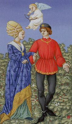 The Lovers - Medieval Tarot